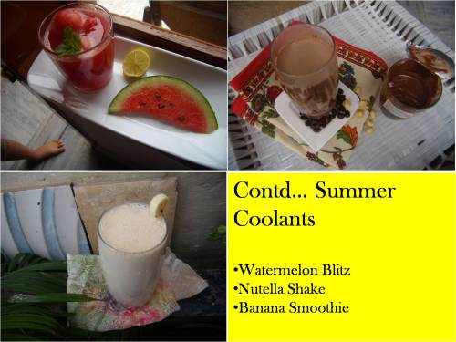 Summer Coolants