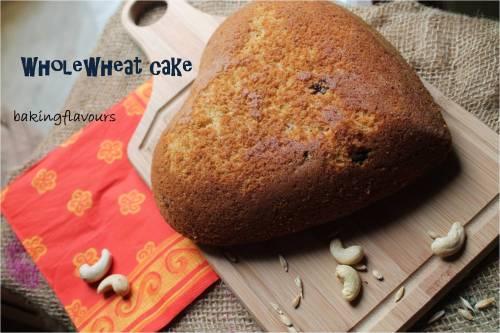wholewheat cake