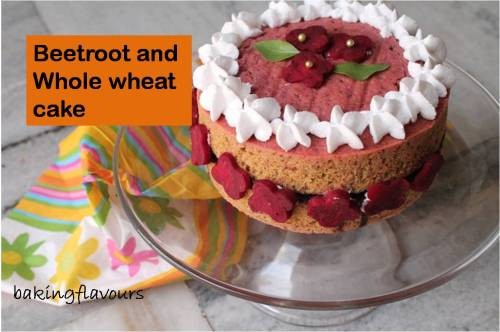 beetroot and whole wheat cake