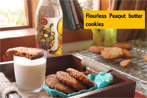 flourless peanut butter cookies1