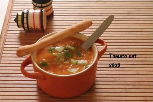 tomato oat soup