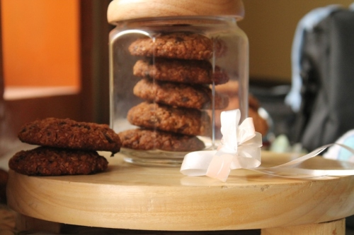 Oats and chocolate Chip Cookies