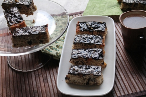 Oat and apricot bar