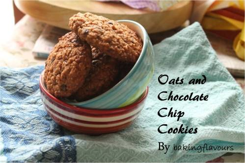 oats and chocolate chip
