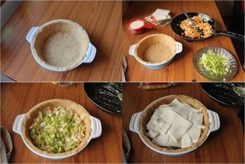 Mediterranean Pizza Pot Pie