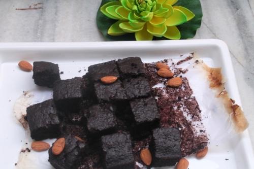 Fudgy Coconut Brownie