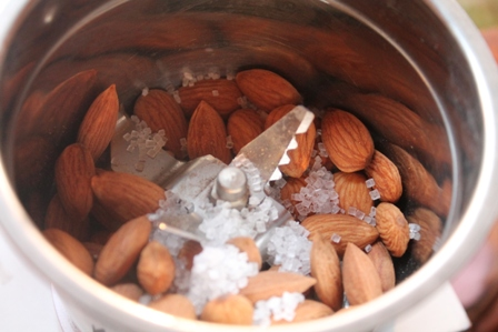 Preparing Almond Meal