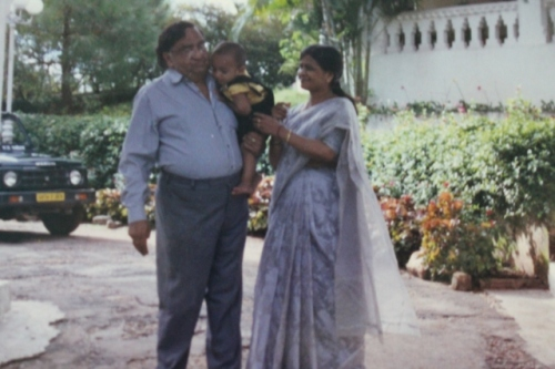 My parents and Anvit