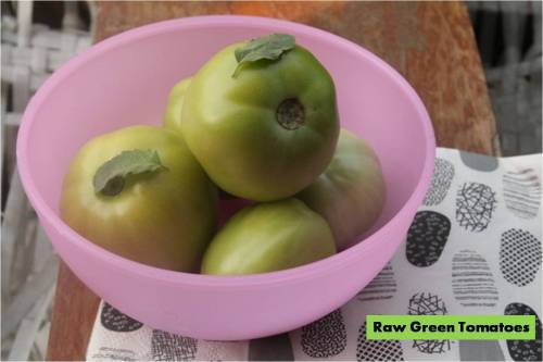 Green Raw TOmatoes