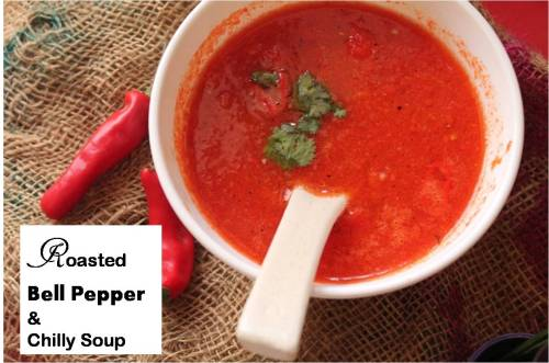 Roasted Bell Pepper and Chilly Soup