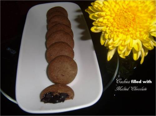 mellted chocolate cookies
