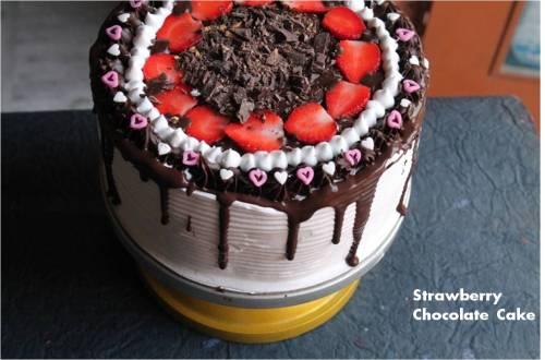 Strawberry Chocolate Cake