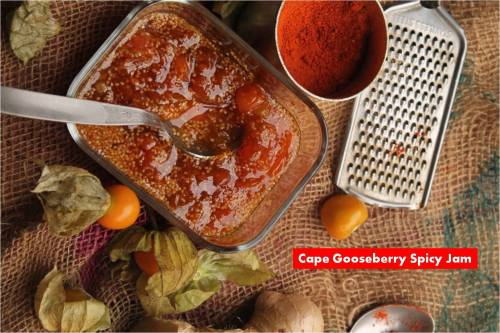 cape Gooseberry Spicy Jam