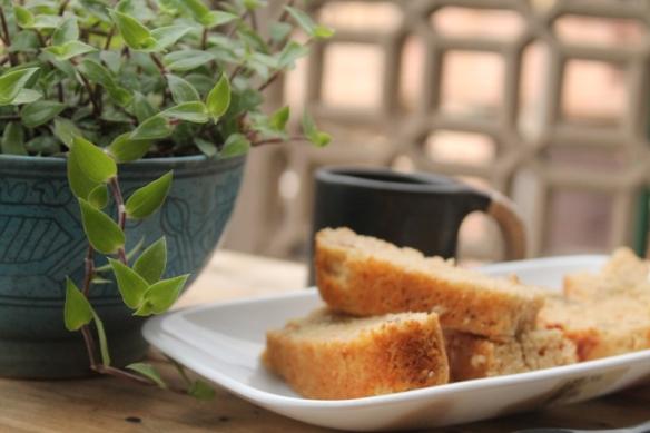 Eggless easter bread