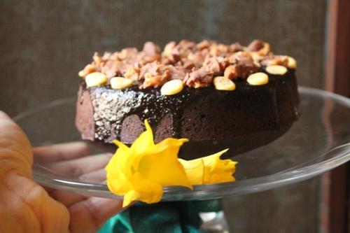 Chocolate Cake with Amaranth Flour