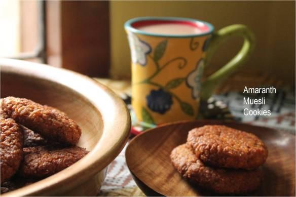 Amaranth muesli Cookies