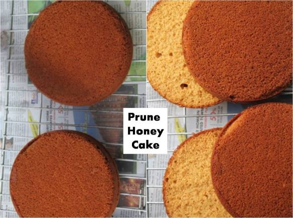 prune honey cake