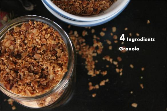 4 ingredients granola