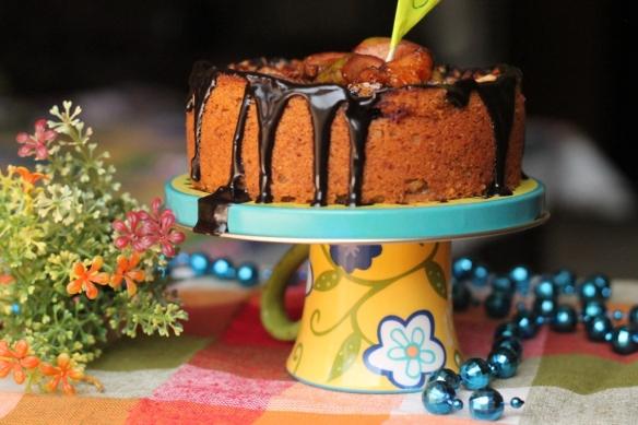 eggless fig cake