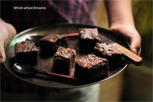 whole wheat brownie