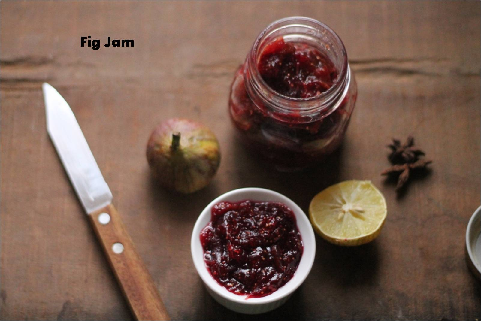 Fig And Apple Jam