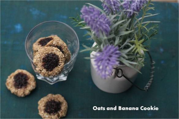 oats and banana Cookie