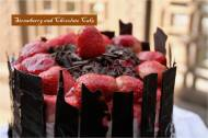 Strawberry and chocolate cake1