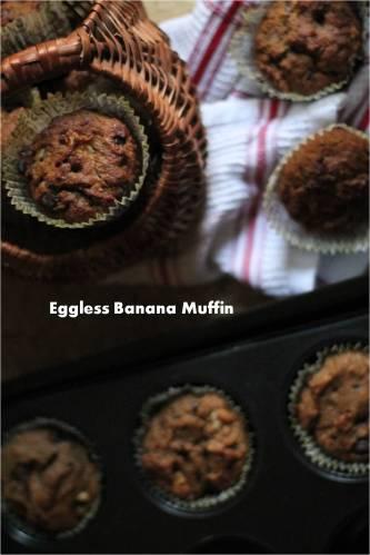 eggles banana muffin