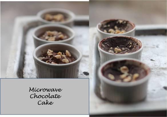 microwave chocoalte cake