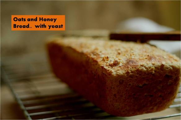 oats and honey bread with yeast