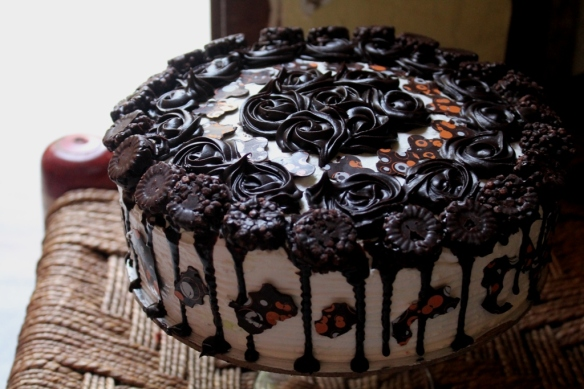 chocolate decoration cake