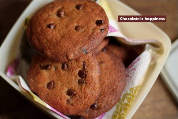 chocolate chip coookiess