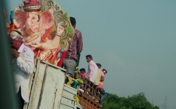 Ganpati Visarjan Rally