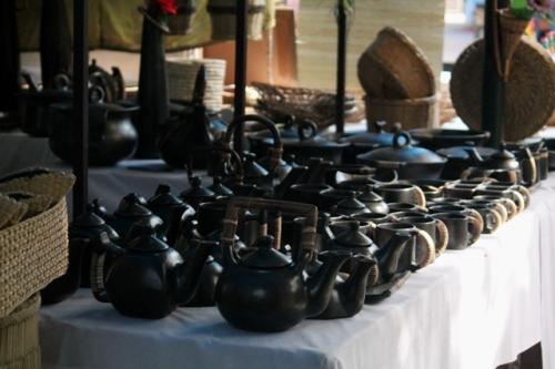 manipal black pottery