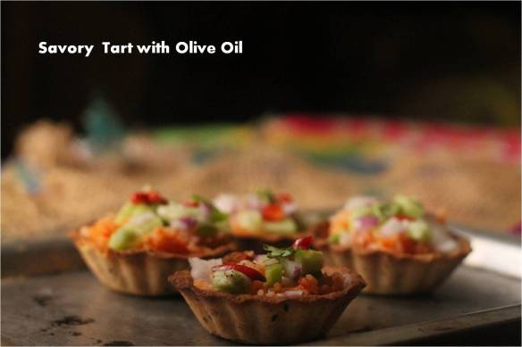 Savory Tart with Olive Oil