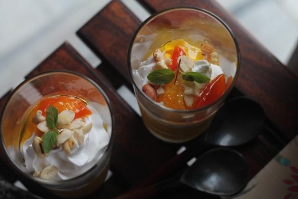 thai mango mousse