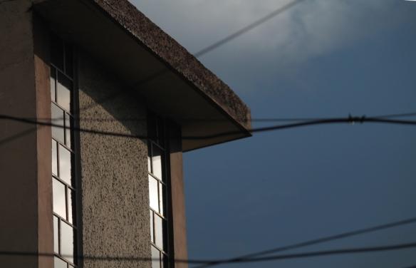 neighbor's window