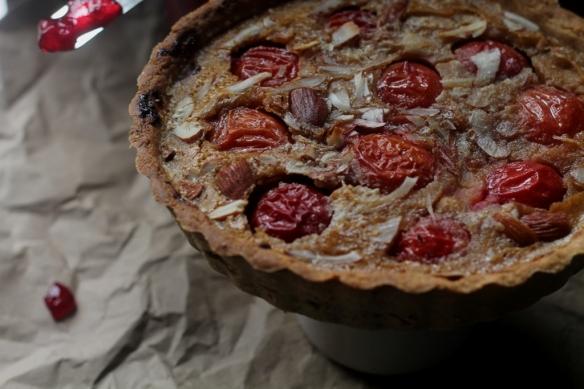 plum Fragipine tart