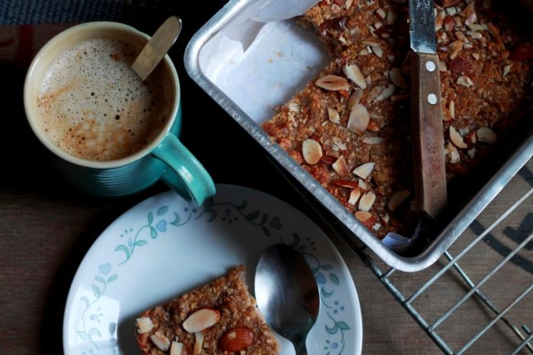 red pear flapjack
